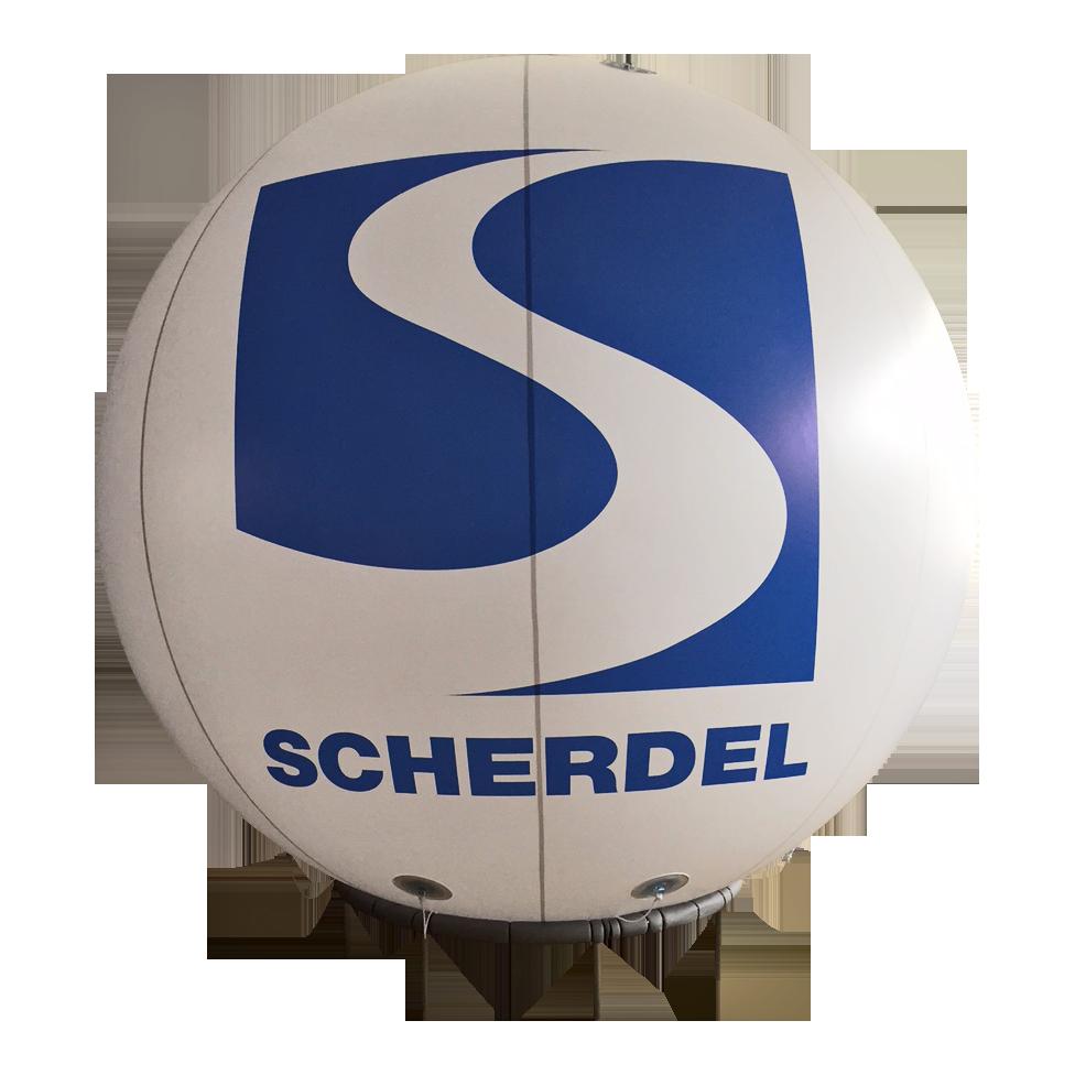 Messeballon 3m durchmesser hochwertig inkl lieferung for Stahlwandpool 3m durchmesser