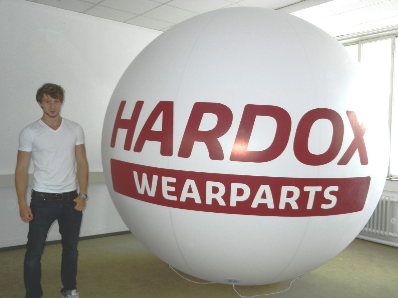 messeballon 3m durchmesser hochwertig inkl lieferung. Black Bedroom Furniture Sets. Home Design Ideas