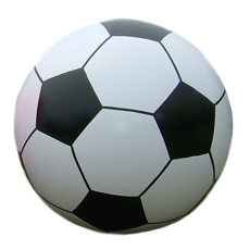 CrowdBall  Meter aus Vinyl- Design Fussball