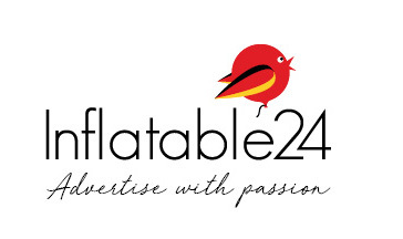 Inflatable 24 Logo Advertise with passion